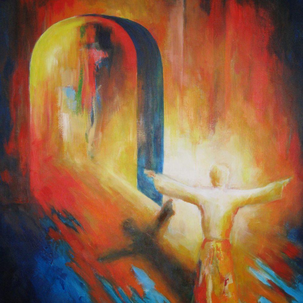 Ga en herstel mijn kerk