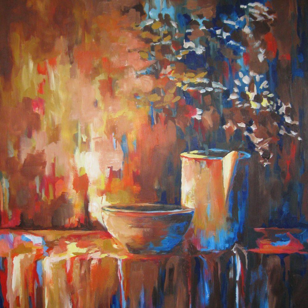 Vaas met bloemen 2