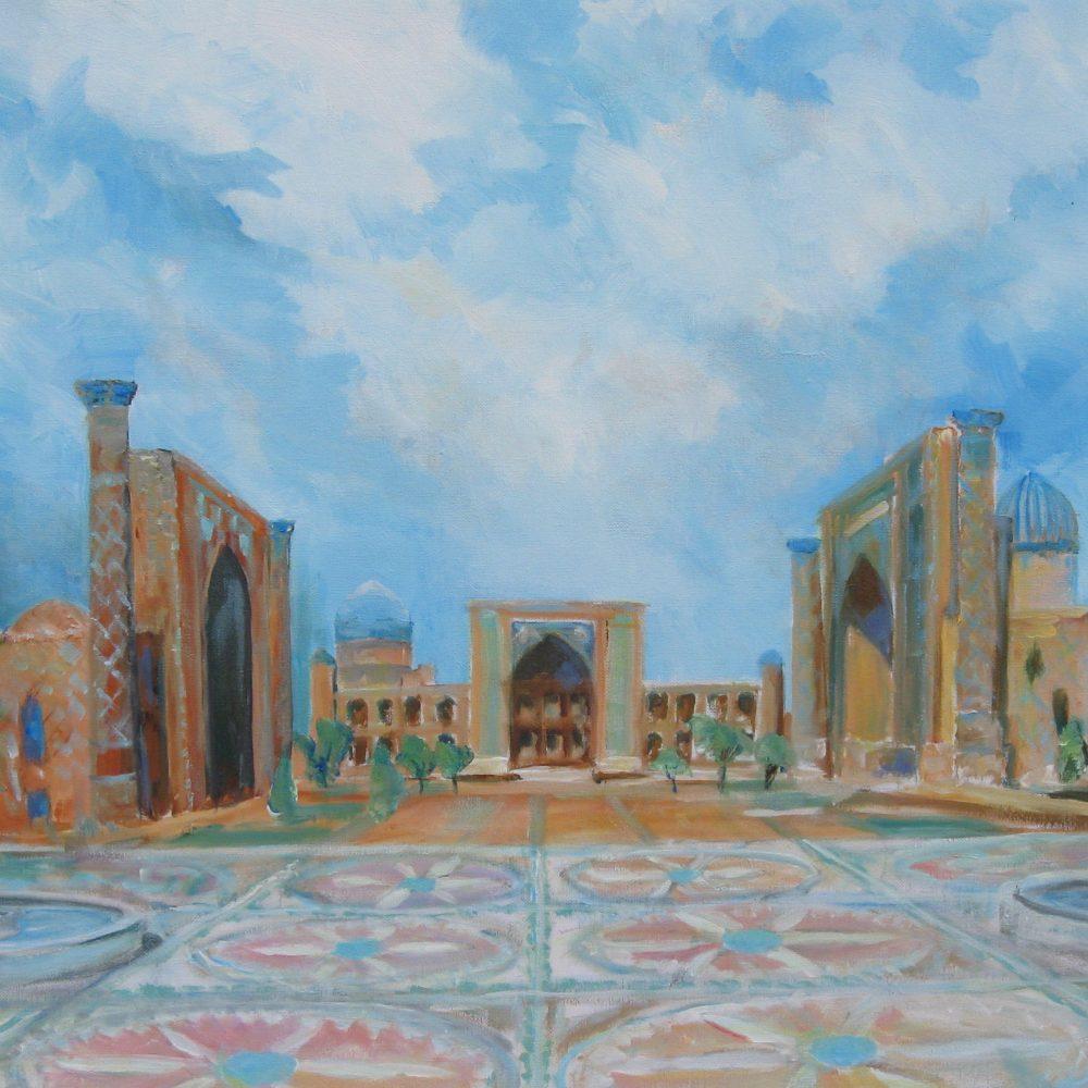 Registan Oezbekistan