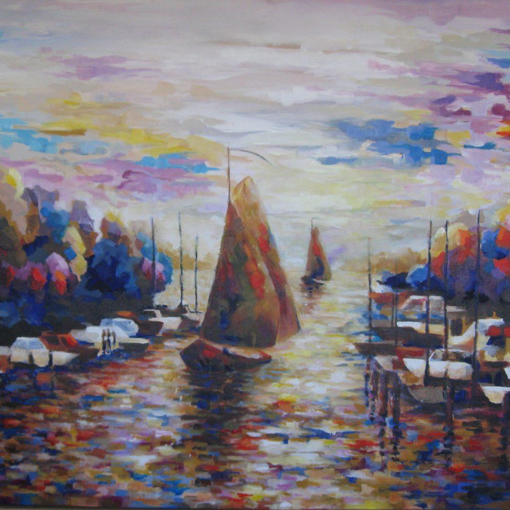 Havenkanaal Elburg